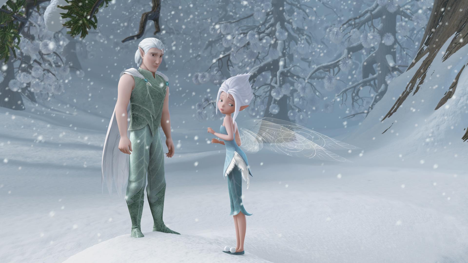 картинки фея тайна зимнего леса первое